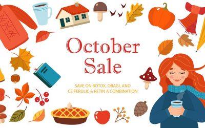 October 2019 Deals & Specials