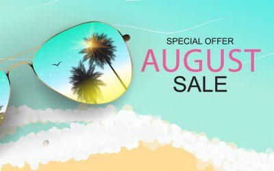August 2019 Deals & Specials