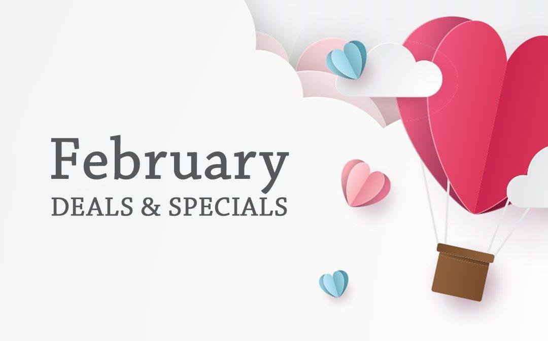 February 2020 Deals & Specials